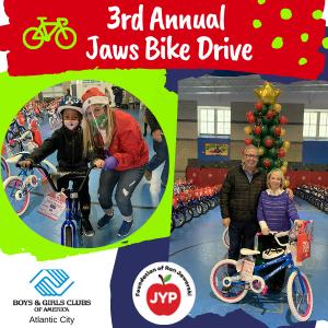 3rd Annual Jaws Bike Drive 2020 - Boys & Girls Club of Atlantic City