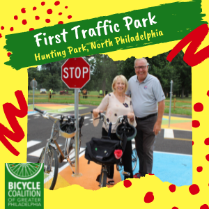 Jaws Youth Playbook Donatres $25,000 toFirst Ever Bike Traffic Park with the Bicycle Coalition of Philadelphia