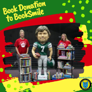 Jaws Youth Playbook Donates Hundreds of Books to Booksmiles