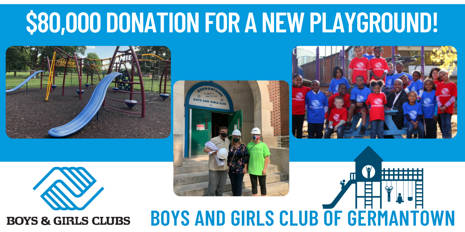 Jaws Youth Playbooks builds new playground in Germantown
