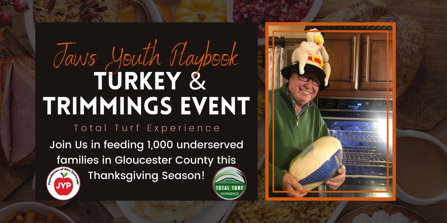 Ron Jaworski's Foundation supports Turkey Drive